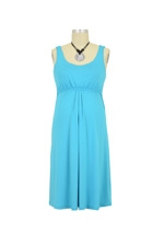 Ying Anytime Sleeveless Nursing Dress (Turquoise) by Larrivo