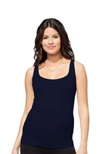 Ingrid & Isabel Seamless Everyday Tank (Midnight) by Ingrid & Isabel