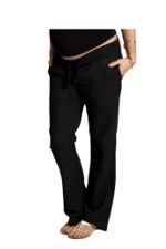 Ingrid & Isabel Linen Pant (Black) by Ingrid & Isabel