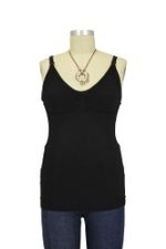 Boob Designs Warming Wool Slimming Nursing Singlet (Black) by Boob