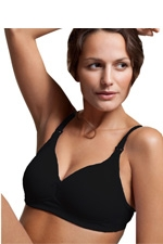 Boob Designs Fine Dining Nursing Bra (Black) by Boob