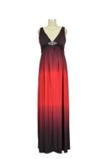 Andrea Ombre Maternity Gown (Red Ombre) by Love My Belly