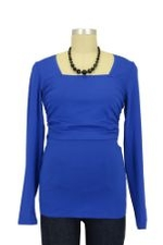 Barbara Jersey Nursing Top (Royal) by Noppies