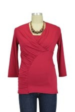 The Thunderbolt Nursing Top (Syrah) by Majamas