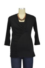 The Thunderbolt Nursing Top (Black) by Majamas