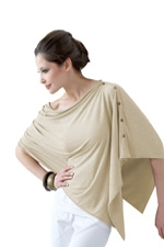Bamboo Nursing Wrap (Ecru) by Mothers en vogue