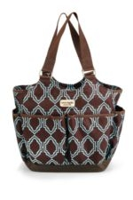 Timi & Leslie Tag-A-Long Tote Diaper Bag (Sahara) by timi & leslie