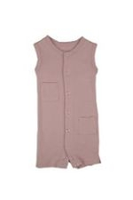 L'ovedbaby Girl Shortalls (Think Pink) by L'ovedbaby