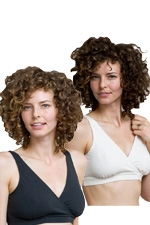 Majamas Organic Daily Bra - 2 Pack (Black & Ivory) by Majamas