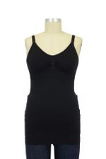 Ripe Seamless Nursing Tank (Black) by Ripe Maternity