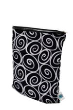 Planet Wise Medium Wet Bag (Midnight Curl) by Planet Wise