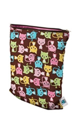 Planet Wise Medium Wet Bag (Kitty Kat) by Planet Wise