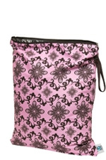 Planet Wise Large Wet Bag (Pink Swirl) by Planet Wise
