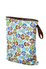 Planet Wise Large Wet Bag (Monkey Fun) by Planet Wise
