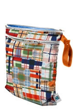 Planet Wise Wet/Dry Bag (Patchwork Plaid) by Planet Wise