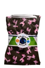 Planet Wise Diaper Pail Liner (Pink Giraffe) by Planet Wise