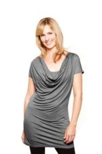 Gina Nursing Top (Gray) by Milkstars
