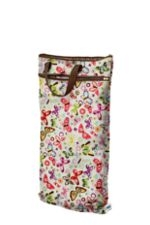 Planet Wise Hanging Wet/Dry Bag (Butterflies) by Planet Wise