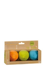 SO'PURE Sophie the Giraffe Rubber Balls (Multi-Color) by Vulli Baby Toys