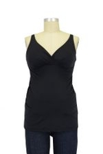 Bella Materna Anytime Padded Nursing Tank (Black) by Bella Materna