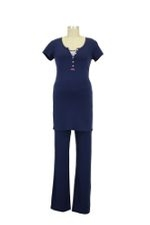 Elise Nursing PJ Set (Navy) by Noppies