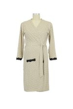 Dottie Robe (Khaki Dot) by Belabumbum