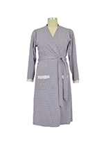 Dottie Robe (Grey Dot) by Belabumbum