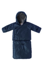 7 am Enfant Bag O Coat (Midnight Blue) by 7 A.M. Enfant