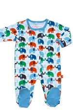 Magnificent Baby Boy's Footie (Elephant) by Magnificent Baby