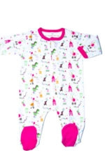 Magnificent Baby Girl's Footie (Circus) by Magnificent Baby