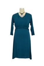 Irene Nursing Gown (Teal) by Larrivo