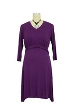 Irene Nursing Gown (Purple) by Larrivo