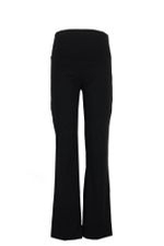 Suzie Straight-Leg Maternity Pant (Black) by Ripe Maternity