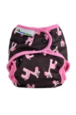 Best Bottom Diaper Shells-Snap (Pink Giraffe) by Best Bottom Diapers
