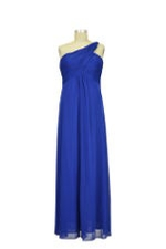 Diana One-Shoulder Maternity Gown (Royal Blue) by Love My Belly