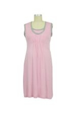 JW D&A Molly 3-piece Nursing Gown Set with Blanket (Pink) by Japanese Weekend