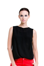 Nicole Nursing Top (Black) by Dote