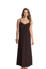 Frills & Grace Nursing Maxi Dress (Black) by Mothers en vogue