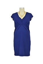 Queen Mum Nursing Dress (Cobalt) by Queen Mum