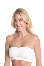 The Organic Cabrio Strapless Nursing Bra (Ivory) by Majamas