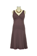 The New Organic Sleepy Dress (Cocoa) by Majamas
