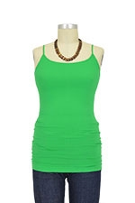 Basic Seamless Maternity Cami (Green) by Nikki Bikki