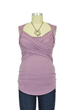 Toni Sleeveless Nursing Top (French Mauve) by Toni Top
