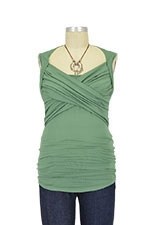 Toni Sleeveless Nursing Top (Laurel) by Toni Top