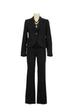 Kimberly Classic 2-pc. Maternity Pant Suit (Black) by Debbi O