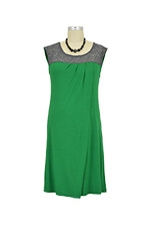 Susie Nursing Dress (Kelly Green) by Annee Matthew