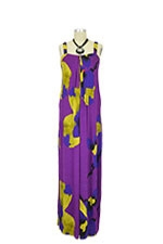Marne Maxi Nursing Dress (Purple Fantasy) by Annee Matthew