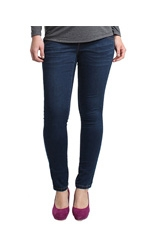 Whitney Super Stretch Maternity Skinny Jean (Dark Wash) by Spring Maternity