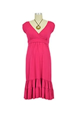 The 9th Street Nursing Dress (Fuchsia) by Dote
