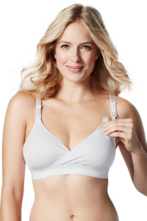 Bravado Original Nursing Bra - Basic (White) by Bravado